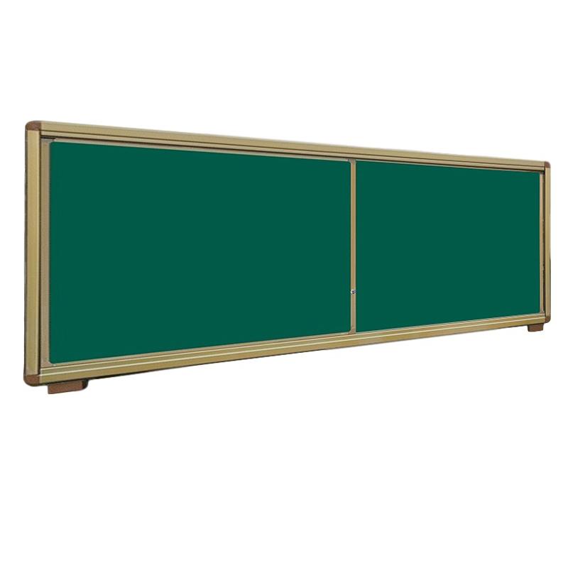 两块装推拉黑板
