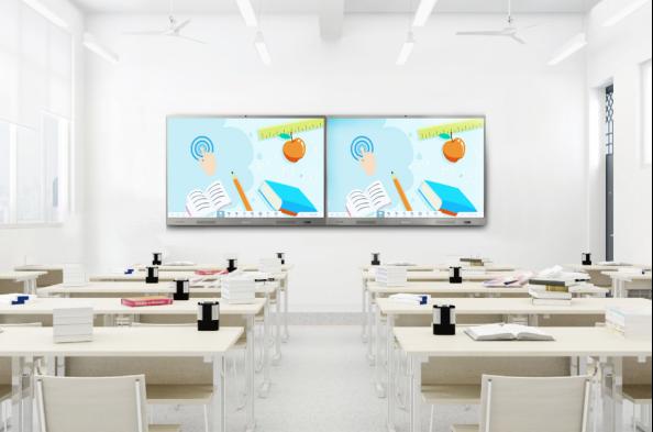 双屏互动教学