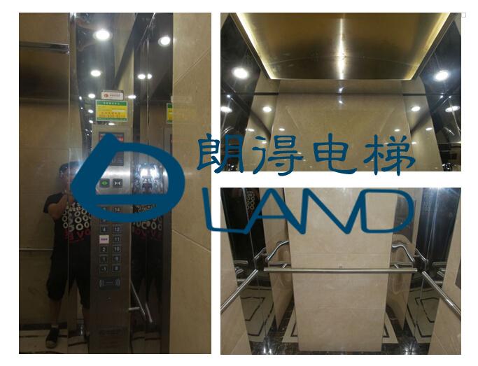 广州市番禺区石楼镇柏丽星寓轿厢装饰装潢案例