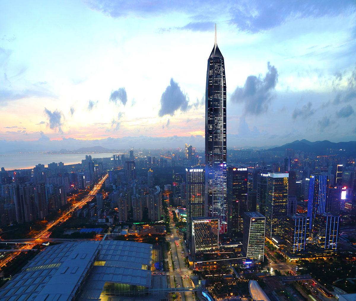 深圳平安金融中心工程案例