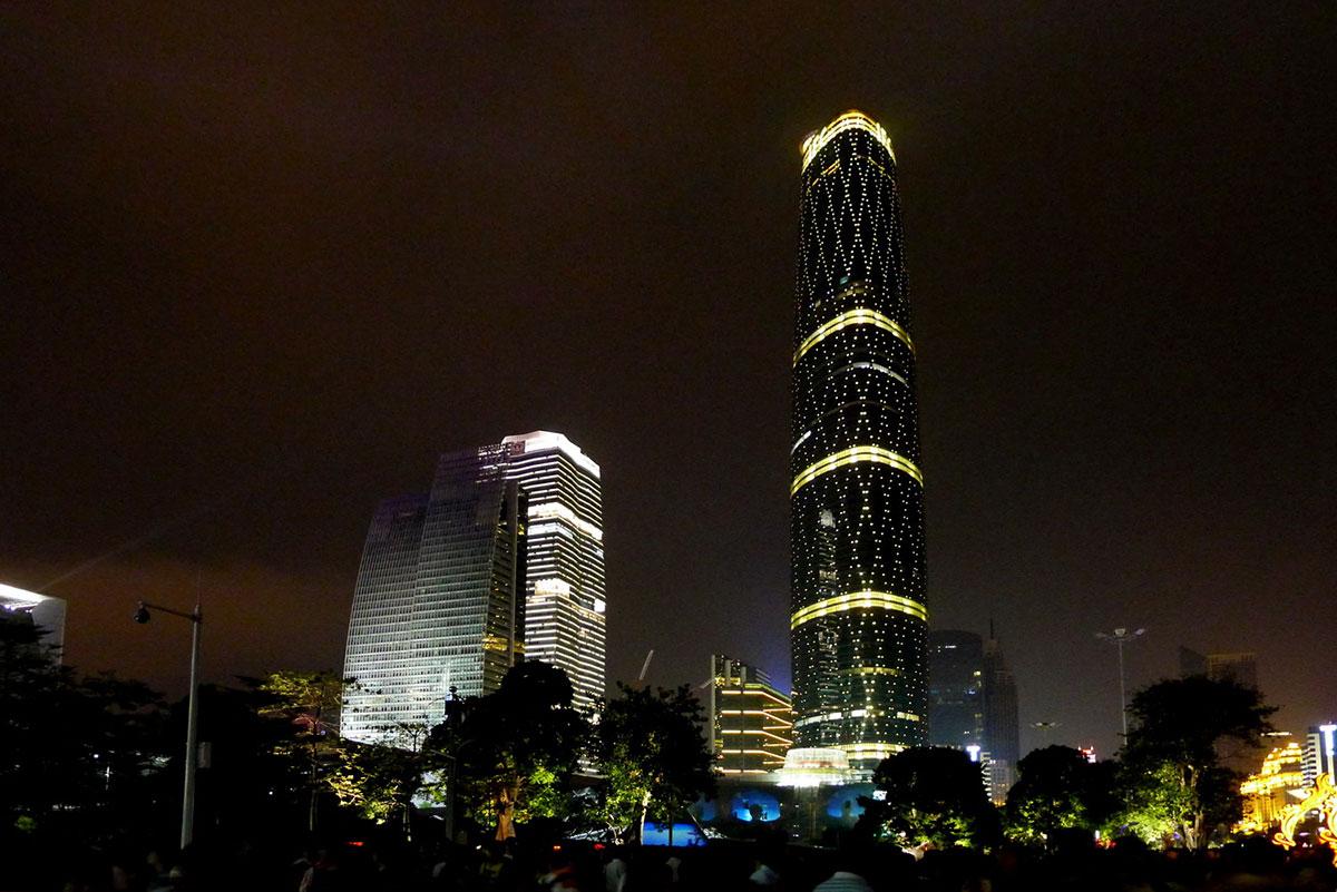 广州西塔工程案例