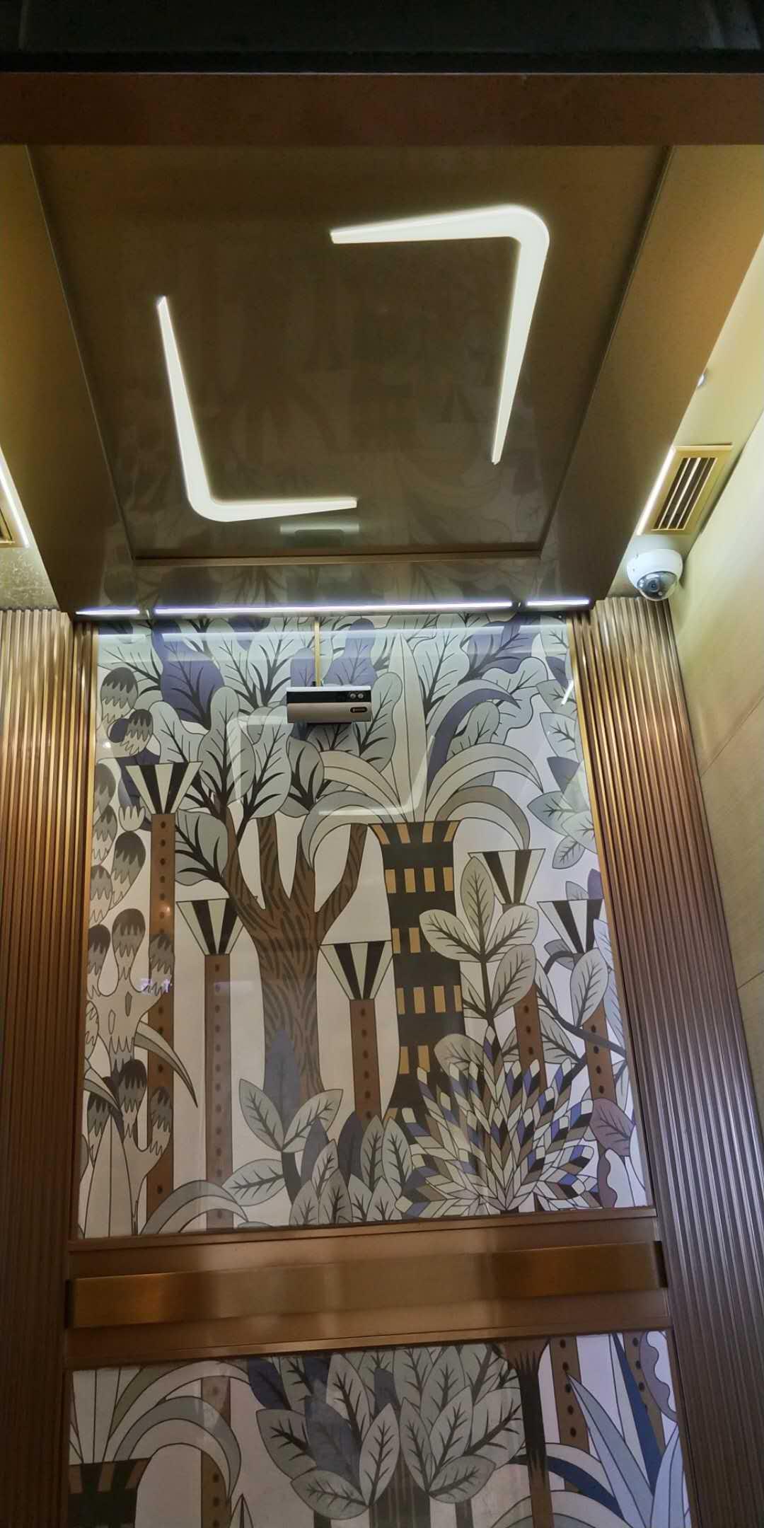 白云汇广场电梯装饰装潢案例