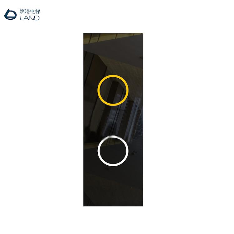 电梯触碰按钮面板