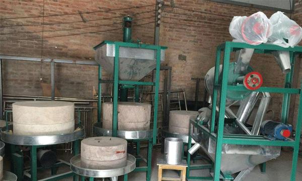 石磨磨面机