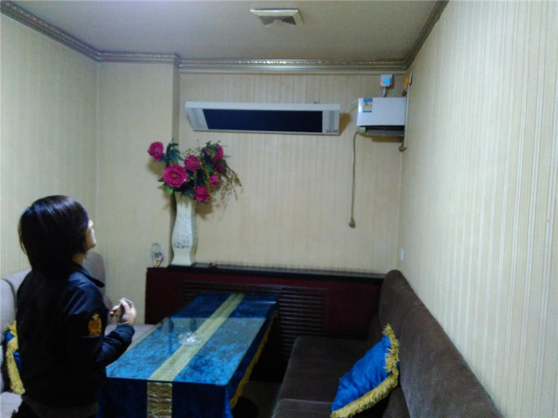 乌鲁木齐企事业电暖器案例