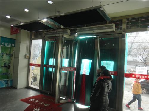 乌鲁木齐电暖器门厅采暖案例