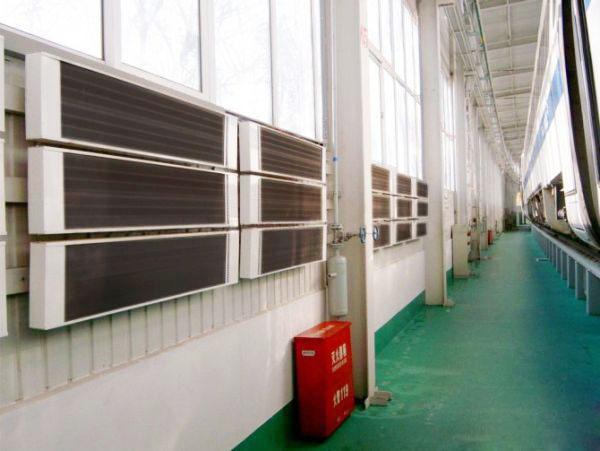 厂房取暖案例