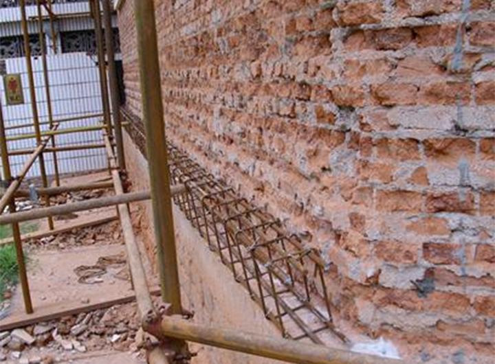 砖墙房加固