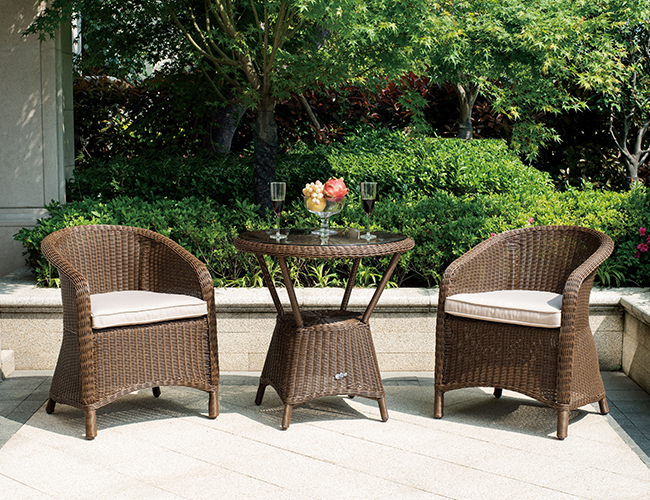 户外桌椅藤椅家具