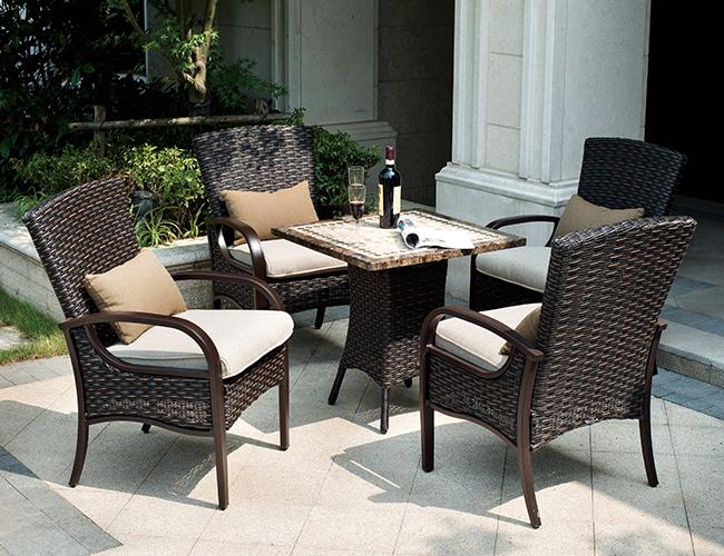 花园编藤椅