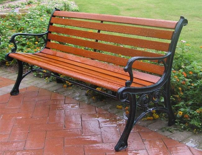 户外公园椅子