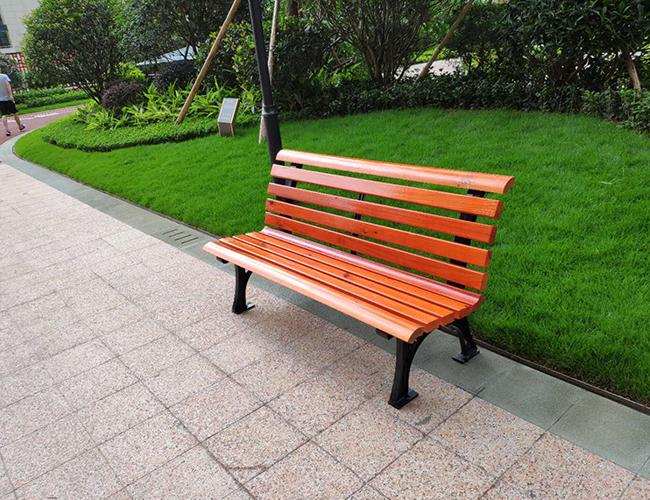 公园长凳座椅