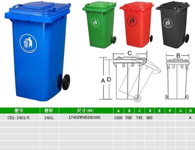 环卫工专用垃圾桶