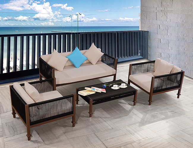 户外海边沙发定制