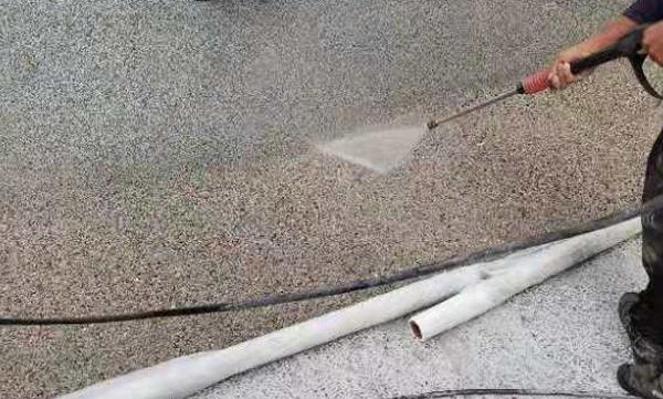 渭南浐灞露骨料透水混凝土