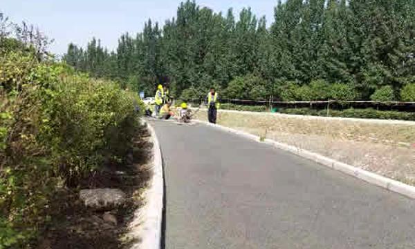渭南太平河透水地坪项目
