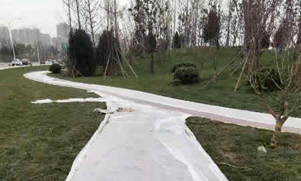 陕西西安浐灞透水地坪项目