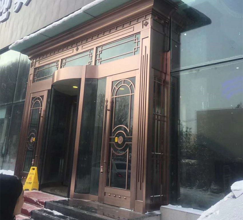 乌鲁木齐酒店不锈钢门工程