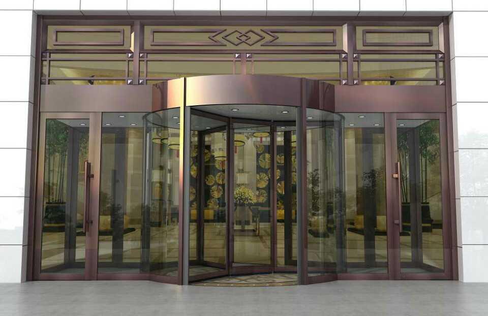 酒店不锈钢门设计