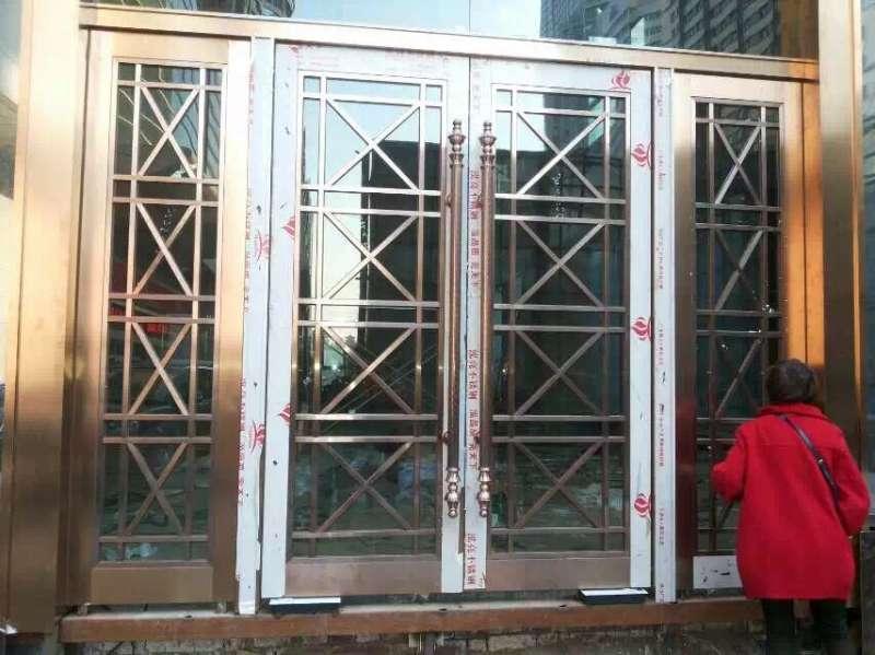 酒店不锈钢门