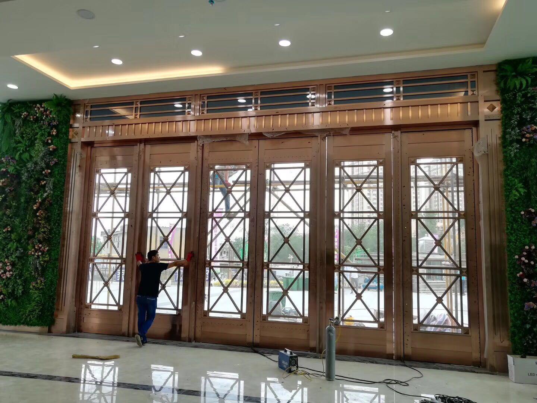 不锈钢酒店门26