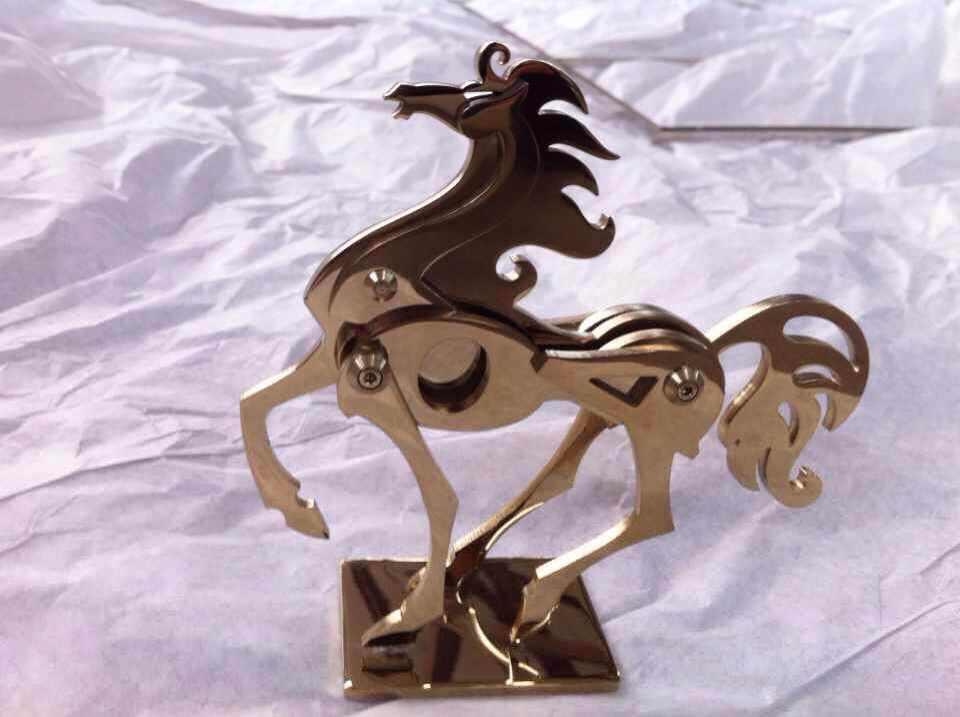 不锈钢艺术造型展示