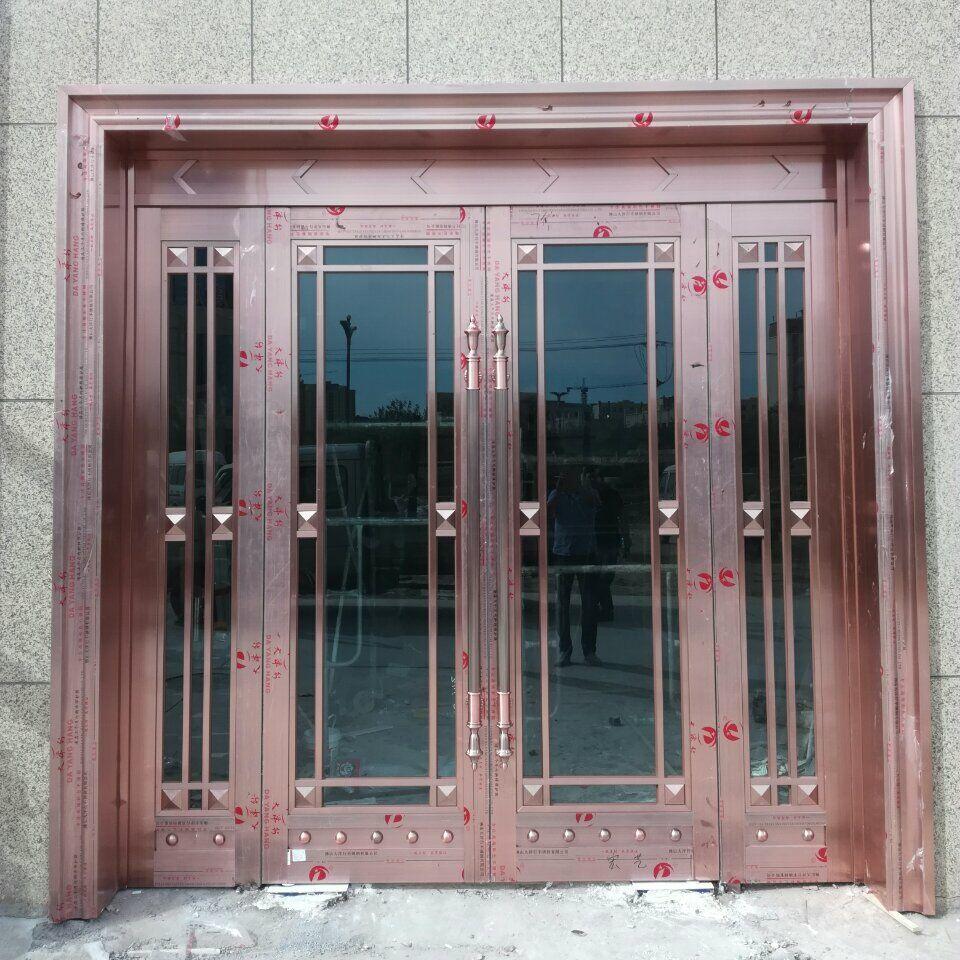 乌鲁木齐酒店门施工案例