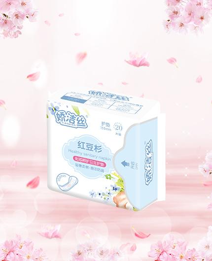 护垫贴芯呵护卫生巾(20片装)
