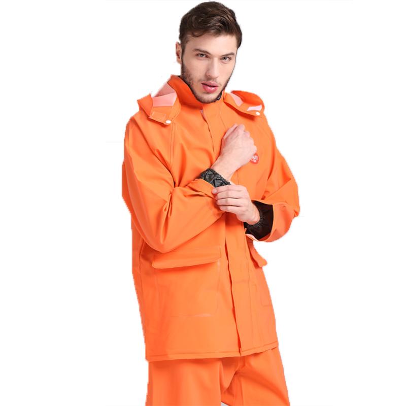 厂家直销分体雨衣雨裤套装pvc批发新款秋冬定制QQ:274828224
