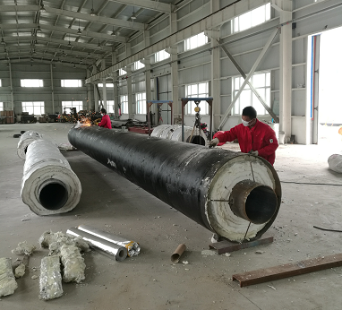 蒸汽管道钢套钢保温