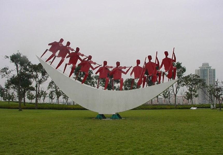 乌鲁木齐玻璃钢雕塑