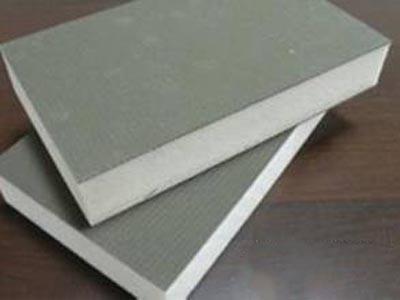 聚氨酯双面水泥基保温板