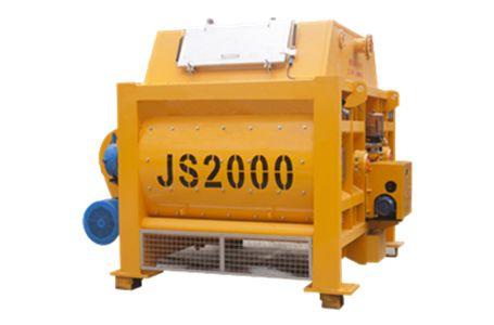 JS2000Ⅱ复合螺旋带混凝土搅拌机