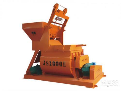JS1000Ⅱ复合螺旋带混凝土搅拌机