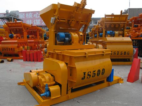 JS500Ⅱ 复合螺旋带混凝土搅拌机