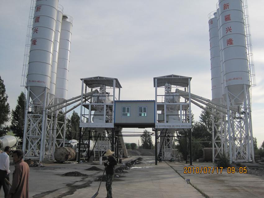 2HZS60标准混凝土搅拌站