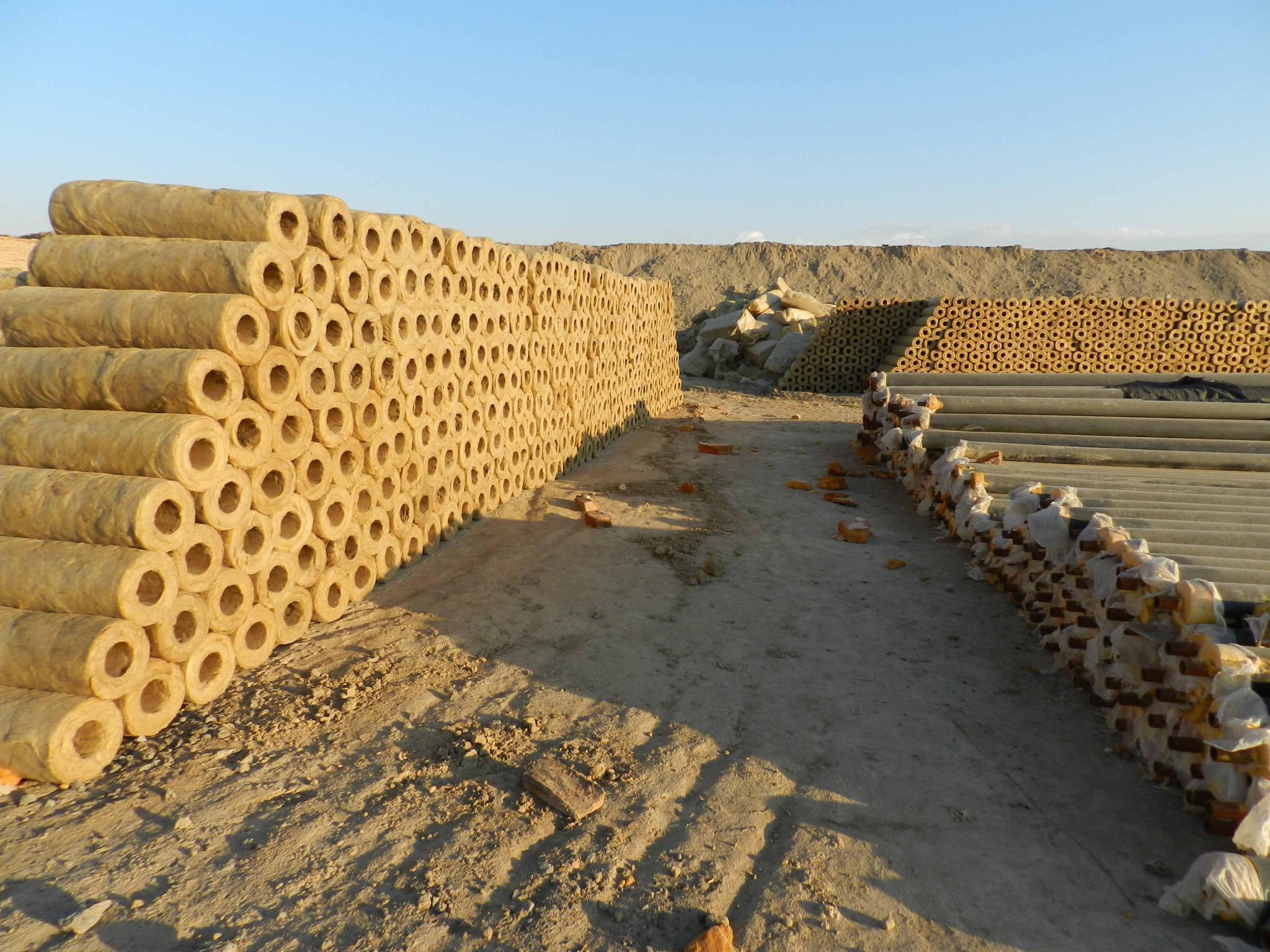 新疆岩棉管