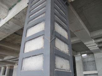 混凝土包钢柱