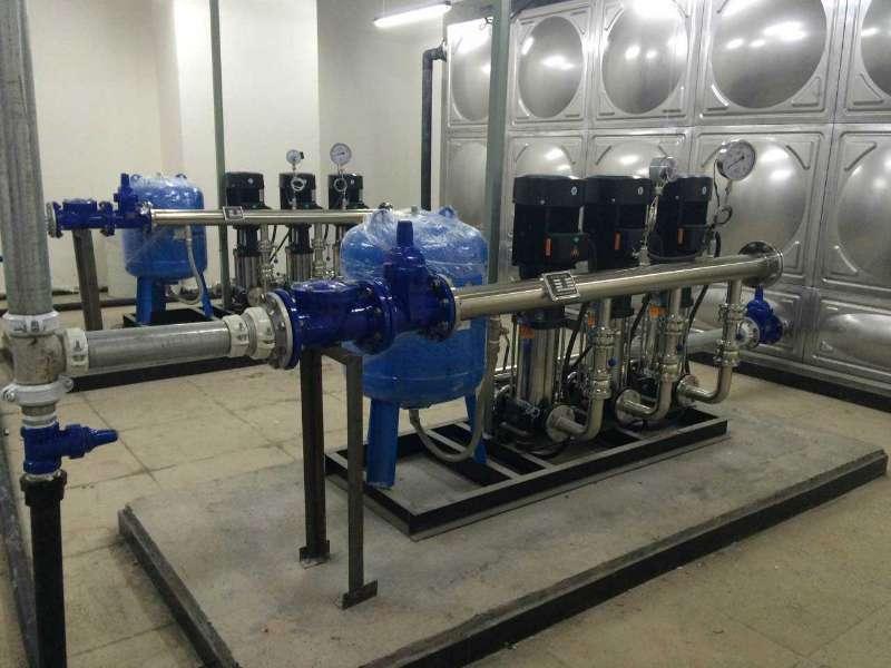 二次供水设备清洗方案