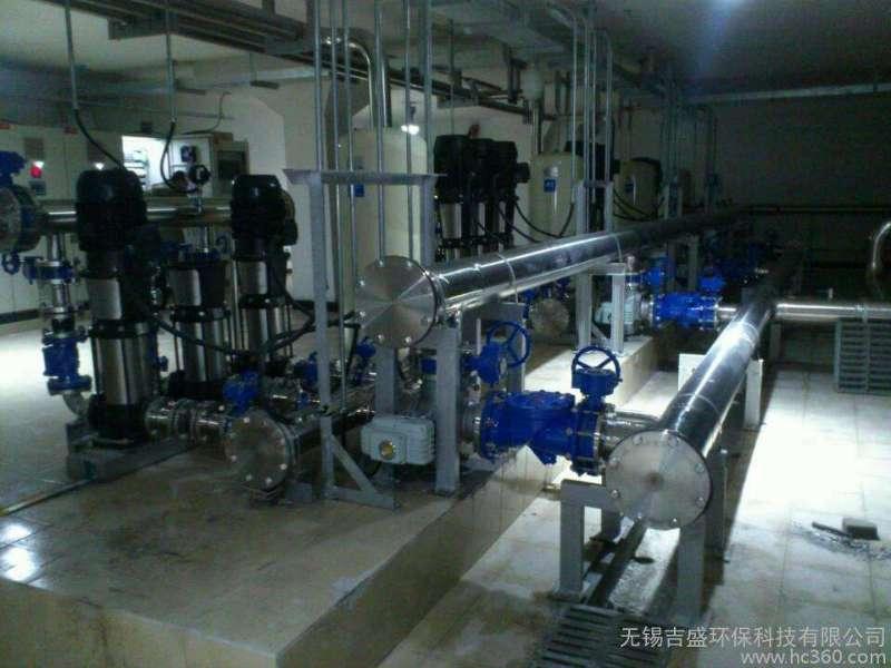 二次供水设备清洗标准