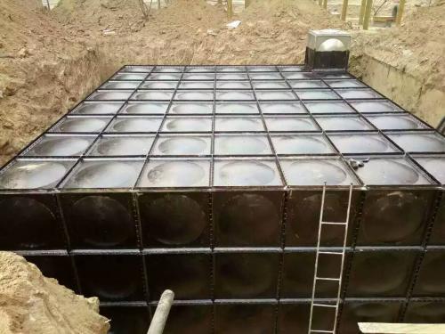 地埋水箱安装