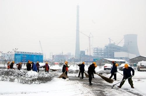 清扫积雪物业保洁
