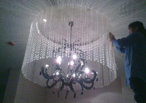 新疆大型吊灯清洗