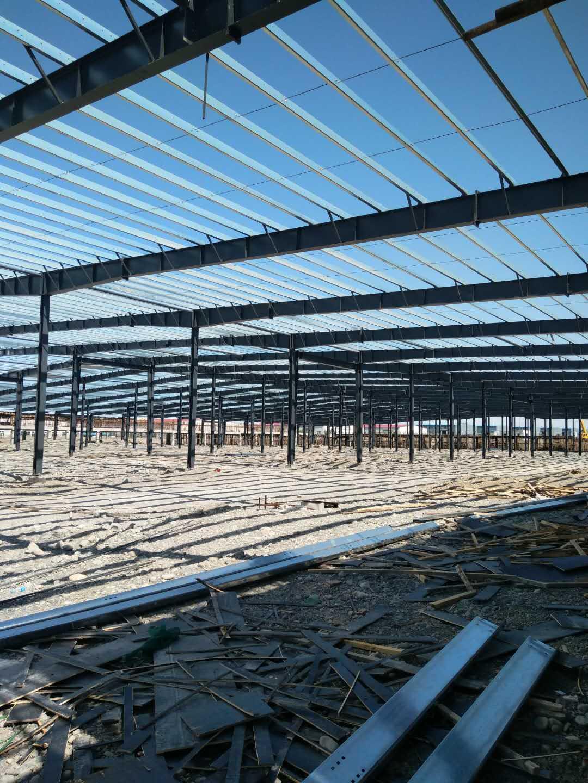 乌苏市新润和纺织有限公司钢结构万博man涂料工程建筑面积26000平米