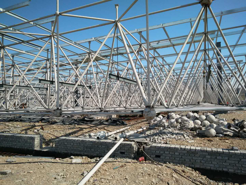 新疆广汽传祺自主品牌总装车间网架万博man涂料工程建筑面积3万平方米