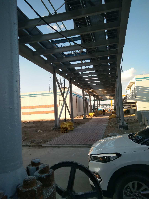 新疆国泰兴华化工有限公司钢结构管廊万博man涂料工程建筑面积140000平方米