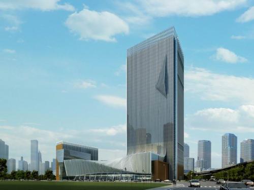 新疆译制大厦高层34层 钢结构万博man涂料工程建筑面积12000平米
