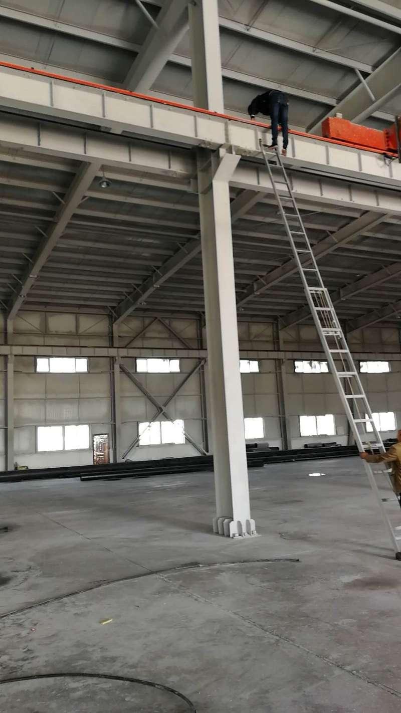 伊犁金科管业有限公司钢结构万博man涂料工程建筑面积15000平方米