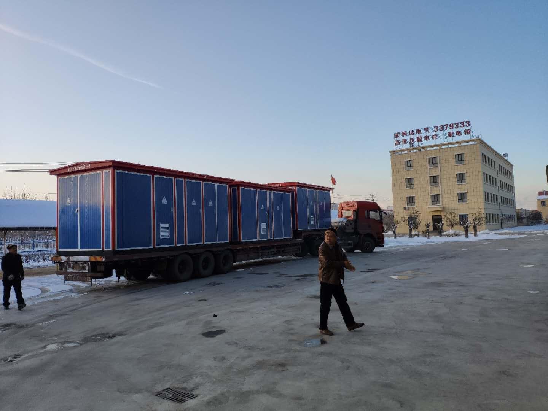 阿克苏 拜城5台箱变 发货