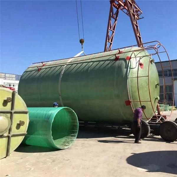 新疆玻璃钢一体化泵站厂家的玻璃钢整体生物化粪池在民用室庐中的实例应用